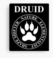 Druid Fantasy RPG Class Shapeshifter Canvas Print