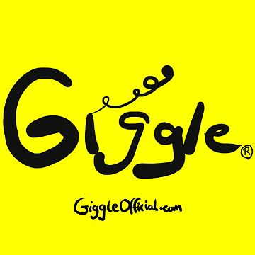 The Giggle Logo w/ Yellow Background (Pattern) | Giggle Merch by GiggleOfficial