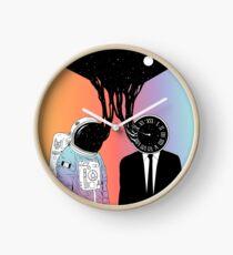Ein Porträt von Raum und Zeit (Eine Studie der Existenz) Uhr