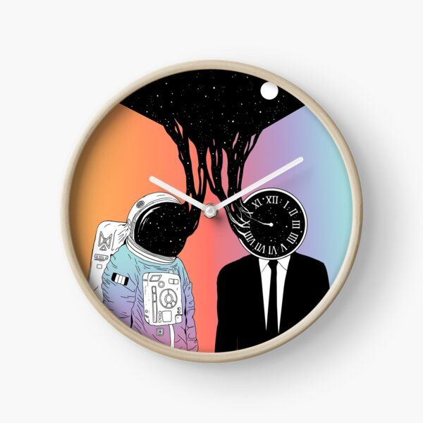 A Portrait of Space and Time (A Study of Existence) Clock