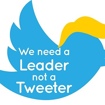 We need a Leader, Not a Tweeter by AvocadoPandD