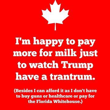 Trump Trudeau by f22design