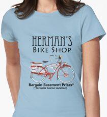Herman's Bike Shop Women's Fitted T-Shirt