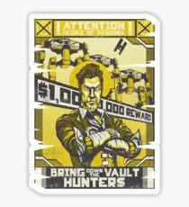 Bring Down the Vault Hunters Sticker