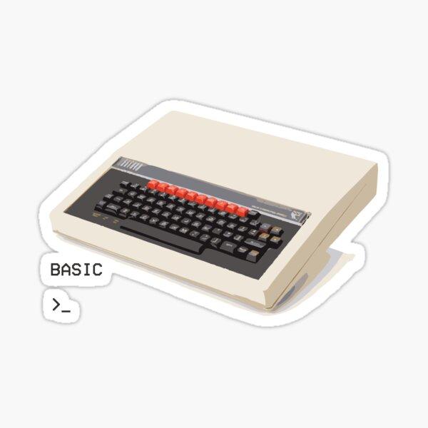 BBC Micro - Classic British 80's computer. Sticker