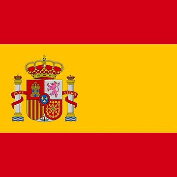 Flag of Spain - Bandera Española High Quality Image by Picturestation