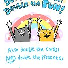 Double The Dads! DOUBLE THE FUN by lauriepink