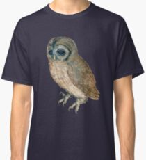 NIGHT OWL ,Antique Animal Drawings Classic T-Shirt
