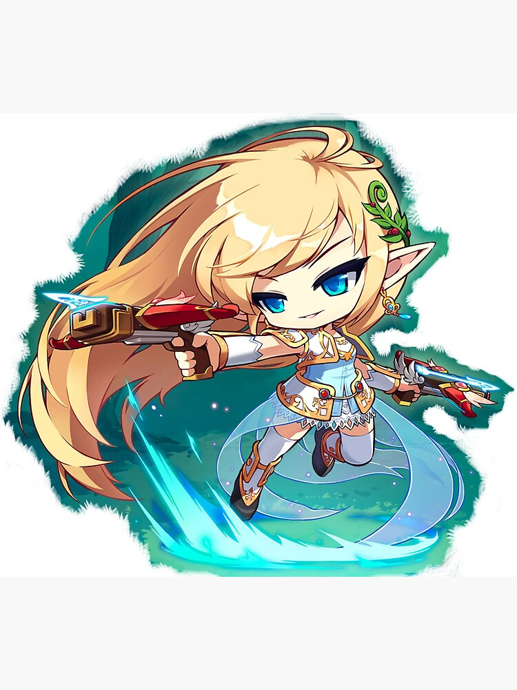 Mercedes from Maplestory | Sticker