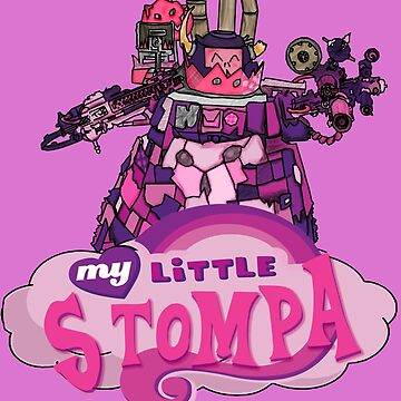 My Little Stompa by herbertron