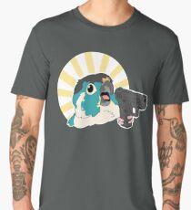 Green Cheek with a Glock Men's Premium T-Shirt