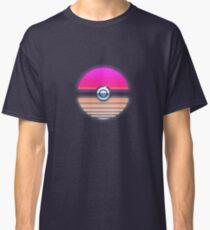 Pokeball Vaporwave Classic T-Shirt