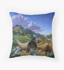 Horn Of Plenty - Cornucopia  Floor Pillow