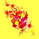 Abstract in Yellow by Baye Hunter