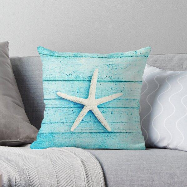Coastal Throw Pillow By Sylviacook Redbubble