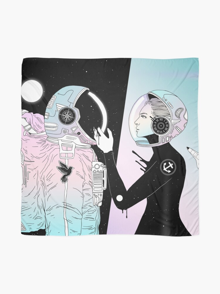 Alternate view of I Found a Space for Us Scarf