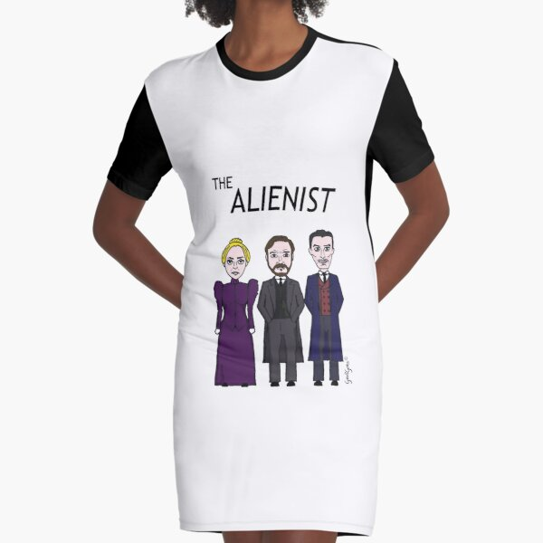 The Alienist Graphic T-Shirt Dress