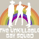 The Unkillable Gay Squad (Waverly Earp, Nicole Haught and Jeremy Chetri) by Chantal Zeegers