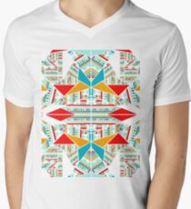 Zazzle White Men's V-Neck T-Shirt
