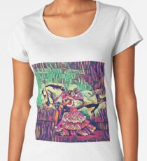 Neon Andalusian Capriole Women's Premium T-Shirt