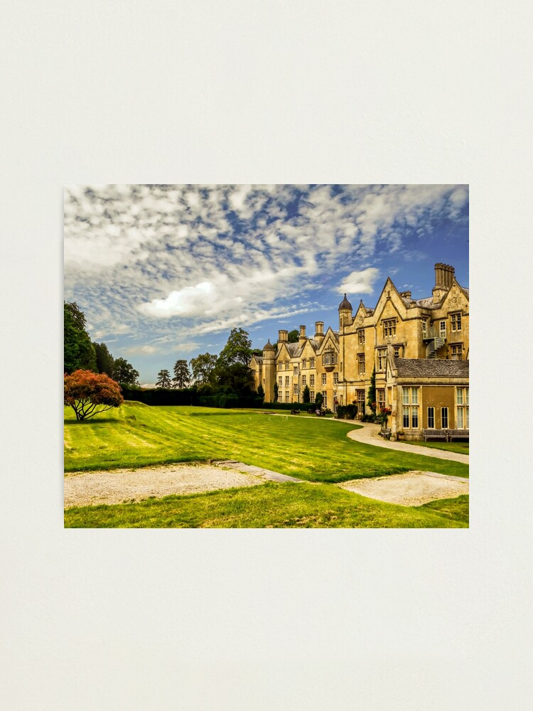 Alternate view of Landscaped Architecture.  Photographic Print