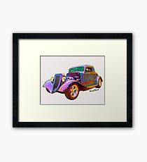 Tees - Pads - Phones - Pillows & More with Ford Street Rod on 'em! Framed Print