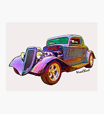 Tees - Pads - Phones - Pillows & More with Ford Street Rod on 'em! Photographic Print