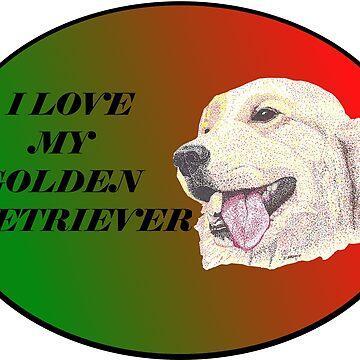Love My Golden by Yenrab