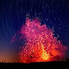 Kilauea Volcano Eruption .2 by Alex Preiss