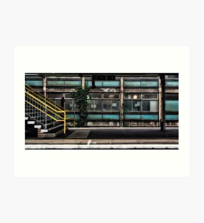 Barking Tube Station Art Print