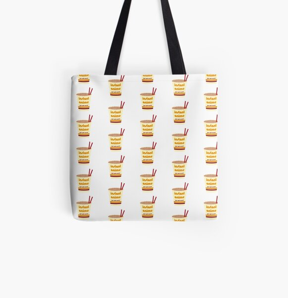 Cup o' Instant Anime All Over Print Tote Bag