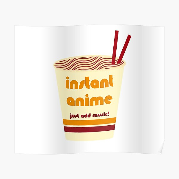 Cup o' Instant Anime Poster