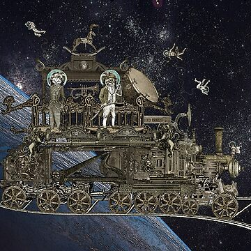 Space Cat Train by felissimha