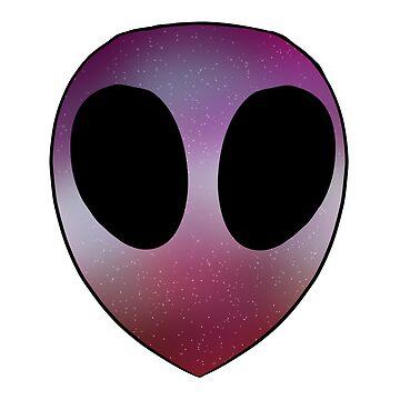 Lesbian Pride Alien by Maisy-G