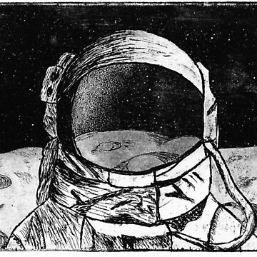 Astronaut on the Moon by AvocadoPandD
