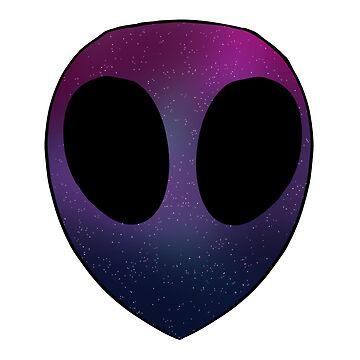 Bi Pride Alien by Maisy-G