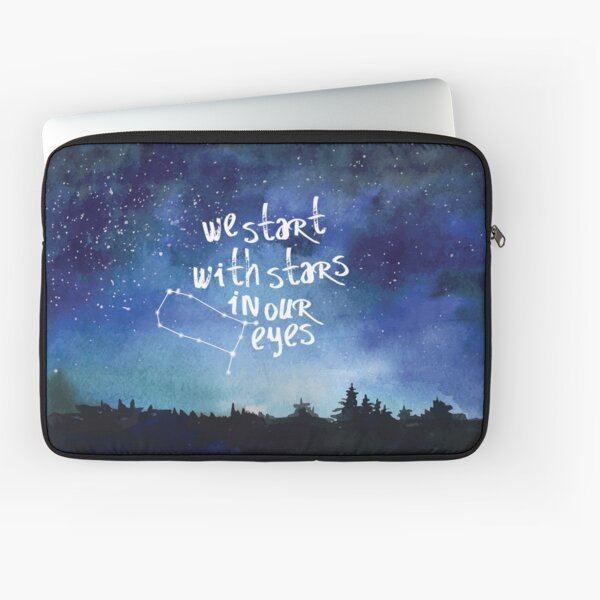 Stars In Our Eyes - Gemini Laptop Sleeve