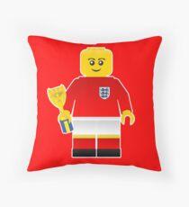 England World Cup 1966 Minifig Throw Pillow
