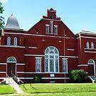 Red Church by WildestArt