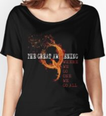 QAnon Storm The Great Awakening WWG1WGA by Scralandore Women's Relaxed Fit T-Shirt