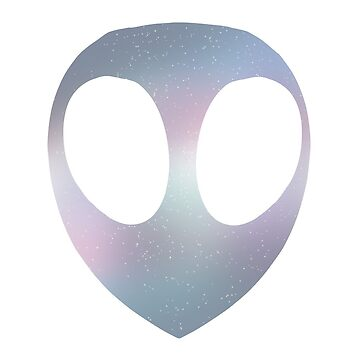 Trans Pride Alien (Pastel) by Maisy-G