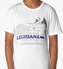 Louisiana Police State Police Guardian Angel Long T-Shirt