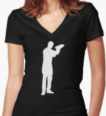 Barkeeper Women's Fitted V-Neck T-Shirt