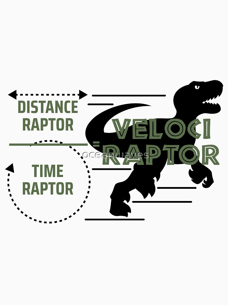 Mix of Distance Raptor and Time Raptor is Velociraptor Stuff by oceanwaves