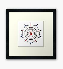 Secondary Compass for Being Framed Print