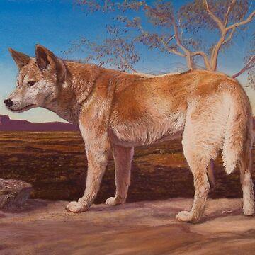 Dingo spirit by wildatart