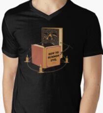 Evil Learning Men's V-Neck T-Shirt
