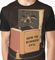Evil Learning Graphic T-Shirt