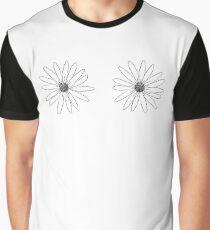 drawn flower Graphic T-Shirt