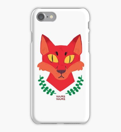 Vulpes Vulpes iPhone Case/Skin